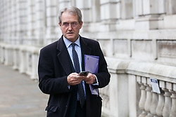 London, UK. 6th December, 2018. Owen Paterson, Conservative MP for North Shropshire, arrives for a Privy Council meeting at the Cabinet Office.