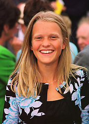 LADY ALEXANDRA GORDON-LENNOX daughter of the Earl of March, at a race meeting in Sussex on 31st July 1998.MJH 59