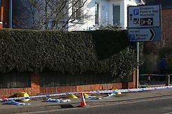 Woking,Surrey Thursday 19th January 2017 Teenager Fighting for His Life after Stabbing in Upmarket Area of Woking <br /> Police received reports at around 7.20pm that a 16-year-old had gone into a local hospital with a stab wound.<br /> <br /> He was taken to hospital for treatment, where his condition is described as serious.<br /> <br /> A police cordon was set up on the A3046 Chobham Road on Wednesday night, between the Brewery Road roundabout and the Wheatsheaf pub.<br /> <br /> <br /> A passer-by, who was at the scene last night, said:<br /> <br /> &ldquo;I was coming home from work last night and police had cordoned off a large section of pavement along Chobham Road.<br /> <br /> <br /> <br /> &ldquo;There were officers standing guard at certain points along the cordon and they were only letting people who lived inside the cordon pass.<br /> <br /> <br /> <br /> &ldquo;Nobody would say what had happened but it must have been pretty serious because the pavement was still cordoned off this morning [Thursday] and officers guarding were standing guard.<br /> <br /> <br /> <br /> &ldquo;Four yellow forensic cones had been placed on part of the pavement and were covering what appeared to be evidence on the ground.&rdquo;<br /> <br /> A South East Coast Ambulance Service spokesperson said paramedics were called at around 7.15pm to Woking Community Hospital and they attended the scene with a car and an ambulance.<br /> <br /> The teenager was treated on the scene for a neck wound and then took him to another hospital where he remains in a &ldquo;serious condition.&rdquo;<br /> <br /> <br /> <br /> Witnesses urged to contact police<br /> <br /> Detective Sergeant David Bentley said:<br /> <br /> &ldquo;I am urging anybody who witnessed an incident in Chobham Road to contact us as soon as possible.<br /> <br /> <br /> <br /> &ldquo;Any information you have, no matter how insignificant you think it might be, could help us establish the circumstances surrounding this incident.&rdquo;<br /> <br /> Surrey Police asks anybody with information to call 101 quoting reference P17013749.&copy;UKNIP