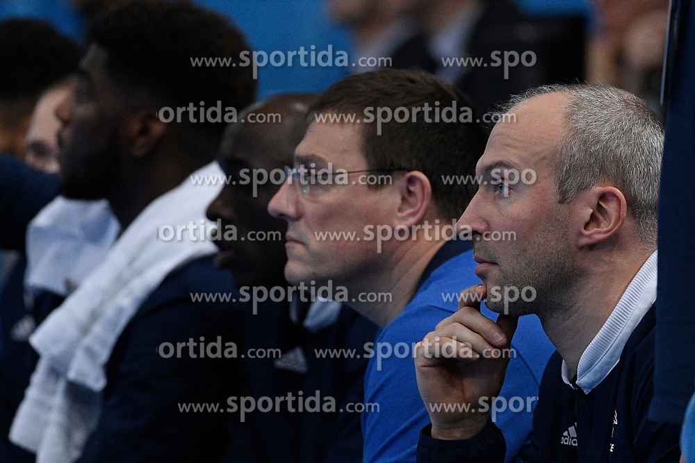 Omeyer Thierry during 25th IHF men's world championship 2017 match between France and Slovenia at Accord hotel Arena on january 26 2017 in Paris. France. PHOTO: CHRISTOPHE SAIDI / SIPA / Sportida