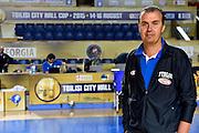 DESCRIZIONE : Tbilisi City Hall Cup - Allenamento<br /> GIOCATORE : Simone Pianigiani<br /> CATEGORIA : nazionale maschile senior A <br /> GARA : Tbilisi City Hall Cup - Allenamento <br /> DATA : 13/08/2015<br /> AUTORE : Agenzia Ciamillo-Castoria