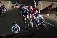 #91 (WILLOUGHBY Sam) AUS at the 2013 UCI BMX Supercross World Cup in Chula Vista