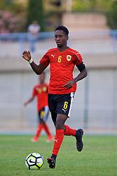 AUBAGNE, FRANCE - Monday, May 29, 2017: Angola's Fernando J. Quissanga Nandinho during the Toulon Tournament Group A match between England U18 and Angola U20 at the Stade de Lattre-de-Tassigny. (Pic by David Rawcliffe/Propaganda)