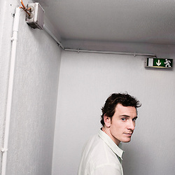 Fish Tank actor Michael Fassbender at the Cannes Film Festival (Terrasse Un Certain Regard). France. 14 May 2009. Photo: Antoine Doyen