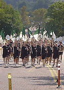 15489Freshman Convocation: Sept 8th 2002 marching from the Convo to College Gate