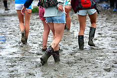 Wet, muddy & soggy Jazzfests