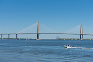 The Arthur Ravenel Jr. Bridge over the Cooper River in Charleston.