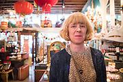 Christin Hinesly, co-owner of Flutter on Mississippi Ave in Portland, Oregon