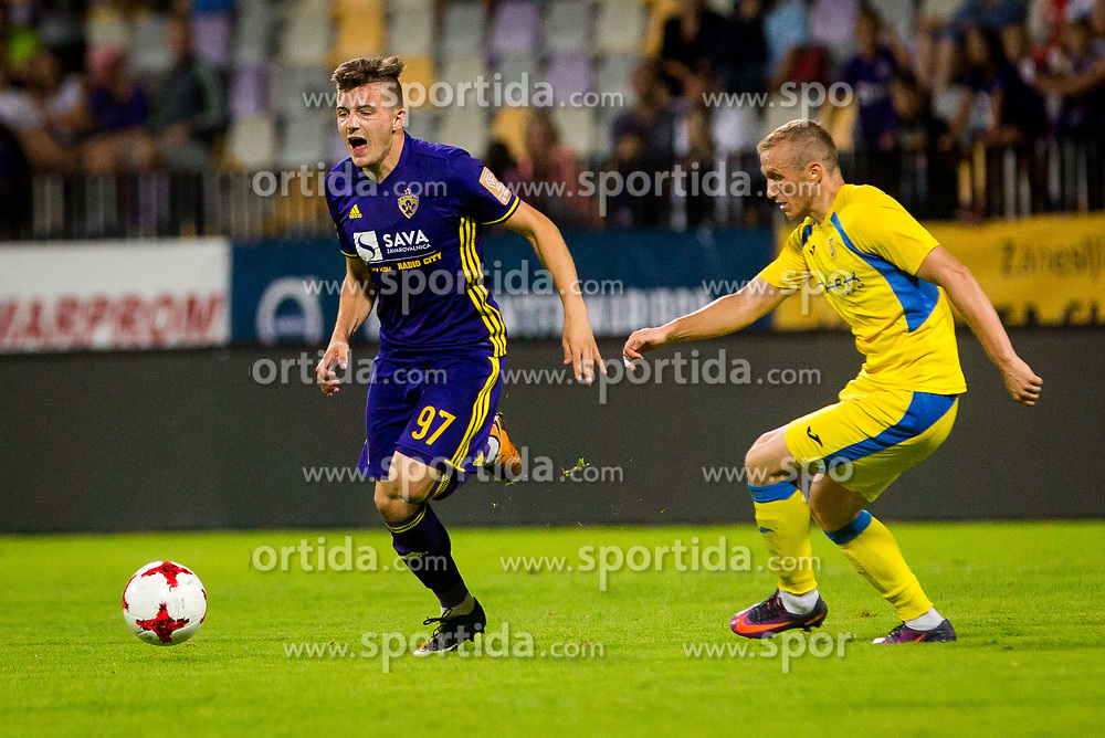Martin Kramaric of NK Maribor during football match between NK Maribor and NK Domzale in 5th Round of Prva liga Telekom Slovenije 2017/18, on August 11, 2017 in Ljudski vrt, Maribor, Slovenia. Photo by Ziga Zupan / Sportida