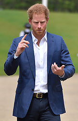 © Licensed to London News Pictures. 16/05/2016. His Royal Highness Prince Harry  attends the launch of their Heads Together campaign to eliminate stigma on mental health London, UK. Photo credit: Ray Tang/LNP