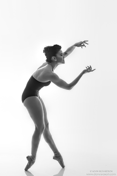 Black and white dance photography-What?-featuring Dance As Art ballerina Zui Gomez