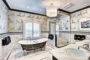 Interiors showcasing the interior design work of MK Designs in Franklin Lakes, NJ,