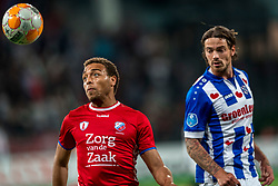 12-05-2018 NED: FC Utrecht - Heerenveen, Utrecht<br /> FC Utrecht win second match play off with 2-1 against Heerenveen and goes to the final play off / Cyriel Dessers #11 of FC Utrecht, Dave Bulthuis #14 of SC Heerenveen
