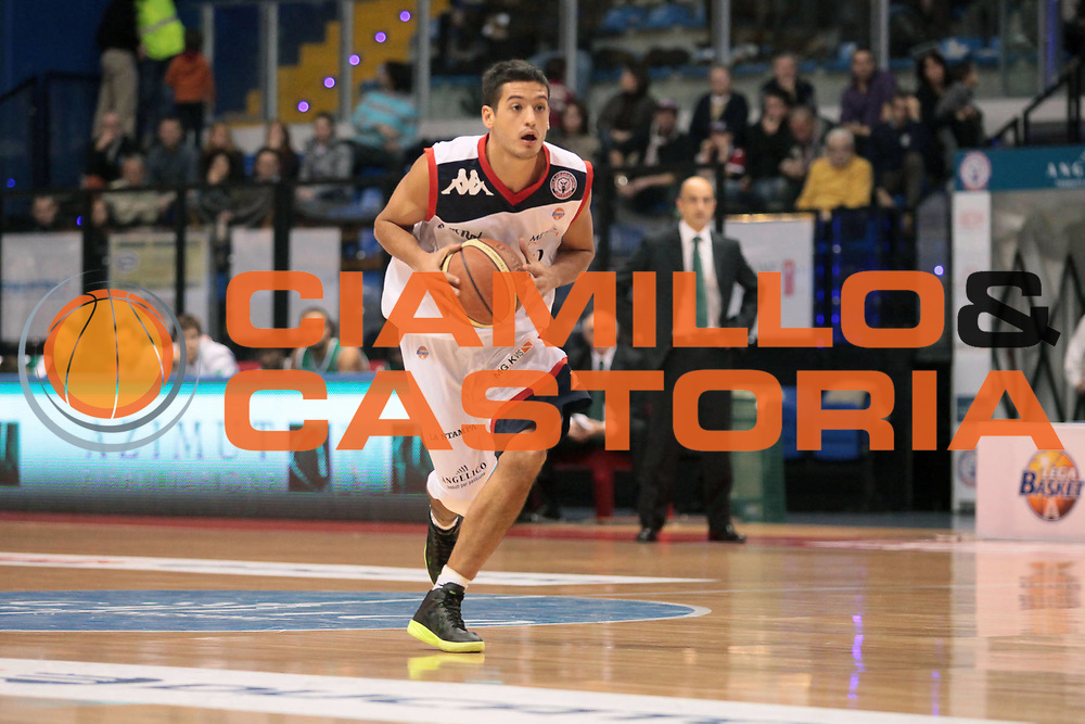 DESCRIZIONE : Biella Lega A 2010-11 Angelico Biella Air Avellino<br /> GIOCATORE : Massimo Chessa<br /> SQUADRA : Angelico Biella<br /> EVENTO : Campionato Lega A 2010-2011<br /> GARA : Angelico Biella Air Avellino<br /> DATA : 28/11/2010<br /> CATEGORIA : Palleggio<br /> SPORT : Pallacanestro<br /> AUTORE : Agenzia Ciamillo-Castoria/S.Ceretti<br /> Galleria : Lega Basket A 2010-2011<br /> Fotonotizia : Biella Lega A 2010-11 Angelico Biella Air Avellino<br /> Predefinita :