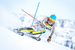 17.02.2019, Aare, SWE, FIS Weltmeisterschaften Ski Alpin, Slalom, Herren, 1. Lauf, im Bild Felix Neureuther (GER) // Felix Neureuther of Germany in action during his 1st run of men's Slalom of FIS Ski World Championships 2019. Aare, Sweden on 2019/02/17. EXPA Pictures © 2019, PhotoCredit: EXPA/ Dominik Angerer