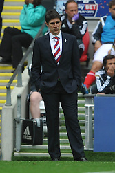 Aitor Karanka Manager Middlesbrough, Middlesbrough v Norwich, Sky Bet Championship, Play Off Final, Wembley Stadium, Monday  25th May 2015