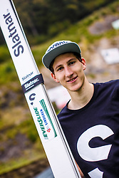 Nejc Dezman during national competition in Ski Jumping, 8th of October, 2016, Kranj,  Slovenia. Photo by Grega Valancic / Sportida