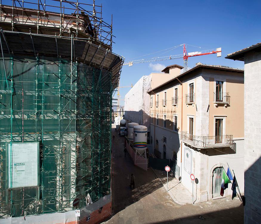 Corso Vittorio Emanuele a L'Aquila