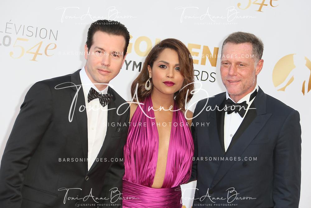 MONTE-CARLO, MONACO - JUNE 11:  Jon Seda, Monica Raymund and Jason Beghe attend the Closing Ceremony and Golden Nymph Awards of the 54th Monte Carlo TV Festival on June 11, 2014 in Monte-Carlo, Monaco.  (Photo by Tony Barson/FilmMagic)