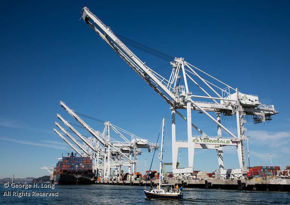 Oakland International Container Terminal; SSA Terminals; San Francisco Bay, California