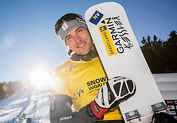 Benjamin Karl (AUT) after the Men's Parallel Giant Slalom at FIS Snowboard World Cup Rogla 2017, on January 28, 2017 at Course Jasa, Rogla, Slovenia. Photo by Vid Ponikvar / Sportida