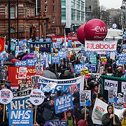 Thousands March and Demonstrate - NHS in Crisis - Fix It Now!
