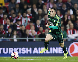February 23, 2019 - Bilbao, Spain - Bilbao, northern Spain, Sunday, February, 23, 2019. Charles Dias during the Spanish La Liga soccer match between Athletic Club Bilbao and S.D Eibar at San Mames stadium. (Credit Image: © Gtres/NurPhoto via ZUMA Press)