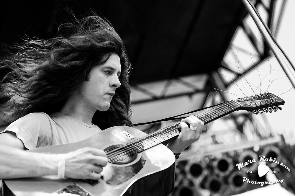 Kurt Vile at Pitchfork Music Festival 2011, concert photography by Cleveland music photographer Mara Robinson Photography