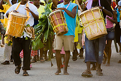 Garifuna Settlement Day, annual festival held in late November, Dangriga, Stann Creek District, Belize, Central America
