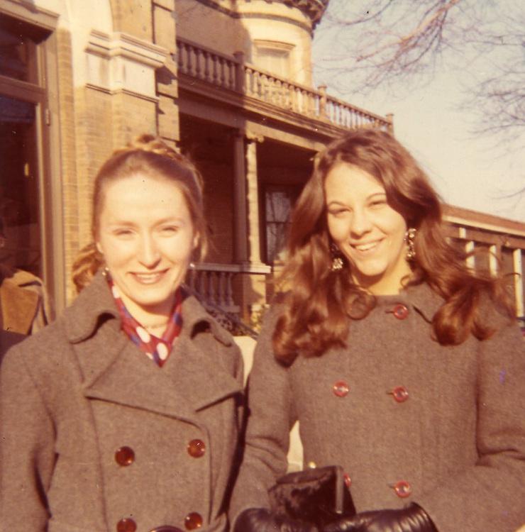 Linda & Karen at U of I