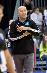 02.11.2016, Arena Nova, Wiener Neustadt, AUT, EHF, Handball EM Qualifikation, Österreich vs Finnland, Gruppe 3, im Bild Trainer Patrekur Johannesson (AUT)// during the EHF Handball European Championship 2018, Group 3, Qualifier Match between Austria and Finland at the Arena Nova, Wiener Neustadt, Austria on 2016/11/02. EXPA Pictures © 2016, PhotoCredit: EXPA/ Sebastian Pucher