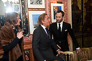 valentino; TOM FORD; , Graydon Carter hosts a diner for Tom Ford to celebrate the London premiere of ' A Single Man' Harry's Bar. South Audley St. London. 1 February 2010