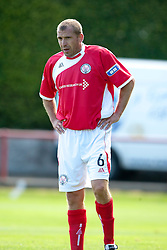 Brechin City's Gary Brady..Brechin City 1 v 2 Falkirk, The Ramsden Cup..©Pic : Michael Schofield.