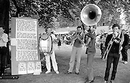 Anti Nuclear Festival. Weston Park, Sheffield. 12/09/1982.