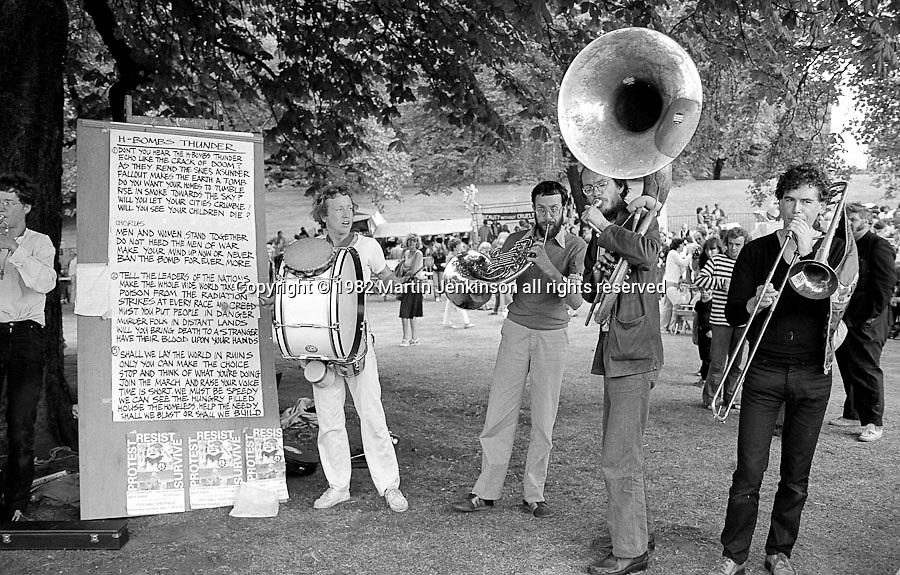 Anti Nuclear Festival. Weston Park, Sheffield. 12/09/1982.