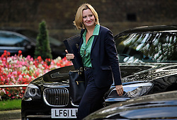 © Licensed to London News Pictures. 13/09/2016. London, UK.  Home Secretary AMBER RUDD arrives at 10 Downing Street in London for cabinet meeting on September 13, 2016. Photo credit: Ben Cawthra/LNP