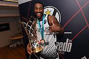 Tony Taylor<br /> Segafredo Virtus Bologna - Iberostar Tenerife<br /> 2019 FIBA Basketball Champions League - Finale 1 - 2 posto Final 1 - 2 place<br /> Anversa, 05/05/2019<br /> Foto M.Ceretti / Ciamillo - Castoria