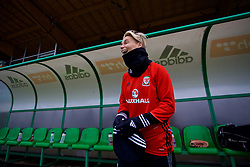 ZENICA, BOSNIA AND HERZEGOVINA - Sunday, November 26, 2017: Wales' Jessica Fishlock during a training session ahead of the FIFA Women's World Cup 2019 Qualifying Round Group 1 match against Bosnia and Herzegovina at the FF BH Football Training Centre. (Pic by David Rawcliffe/Propaganda)