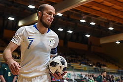 Igor Osredkar during futsal friendly match between National teams of Slovenia and Italy, on December 3, 2019 in Maribor, Slovenia. Photo by Milos Vujinovic / Sportida
