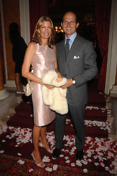 COUNT & COUNTESS RICCARDO PAVONCELLI she was Cosima Von Bulow daughter of Claus Von Bulow at a party to celebrate the launch of the 'Inde Mysterieuse' jewellery collection held at Lancaster House, London SW1 on 19th September 2007.<br /><br />NON EXCLUSIVE - WORLD RIGHTS