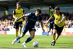 Tom Nichols of Bristol Rovers takes on Kieran Wallace of Burton Albion - Mandatory by-line: Robbie Stephenson/JMP - 31/08/2019 - FOOTBALL - Pirelli Stadium - Burton upon Trent, England - Burton Albion v Bristol Rovers - Sky Bet League One