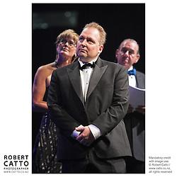 Kerry Prendergast;Rod Drury;Ian Fraser at the Wellington Region Gold Awards 07 at TSB Arena, Wellington, New Zealand.