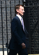 © Licensed to London News Pictures. 07/05/2013. Wesminster, UK. Jeremy Hunt, Conservative MP, Secretary of State for Health.  Ministers on Downing Street on Tuesday 7th May 2013. Photo credit : Stephen Simpson/LNP