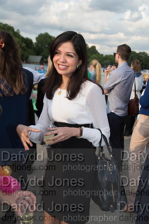 AASTHA GURDAX; ,  CHARLES FINCH'S CHUCS SWIMATHON 2013, SERPENTINE, Hyde Park, London. 4 July 2013.