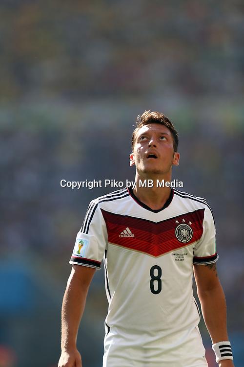 Fifa Soccer World Cup - Brazil 2014 - <br /> FRANCE (FRA) Vs. GERMANY (GER) - Quarter-finals - Estadio do MaracanaRio De Janeiro -- Brazil (BRA) - 04 July 2014 <br /> Here German player Mesut OEZIL <br /> &copy; PikoPress