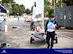 From 27 January to 3 February 2019, Miami will host sailors for the second round of the 2019 Hempel World Cup Series in Coconut Grove. More than 650 sailors from 60 nations will race across the 10 Olympic Events. ©TOMAS MOYA/SAILING ENERGY/WORLD SAILING<br /> 01 February, 2019.
