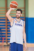 Joan Sastre during the Spain training session before EuroBasket 2017 in Madrid. August 02, 2017. (ALTERPHOTOS/Borja B.Hojas)