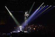 David Garrett  bei seinem Konzert in der  Volkswagen Halle in Braunschweig am 12.October 2014. Foto: Rüdiger Knuth