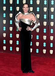 Allison Janney attending the EE British Academy Film Awards held at the Royal Albert Hall, Kensington Gore, Kensington, London.