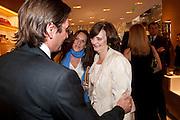 CHERIE BLAIR, Louis Vuitton openingof New Bond Street Maison. London. 25 May 2010. -DO NOT ARCHIVE-© Copyright Photograph by Dafydd Jones. 248 Clapham Rd. London SW9 0PZ. Tel 0207 820 0771. www.dafjones.com.